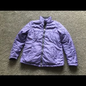 Faded Glory Size 0/2 Puffer Jacket Reversible